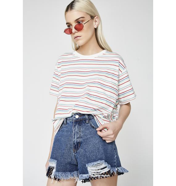 Levis Charlie Multi Color Tee