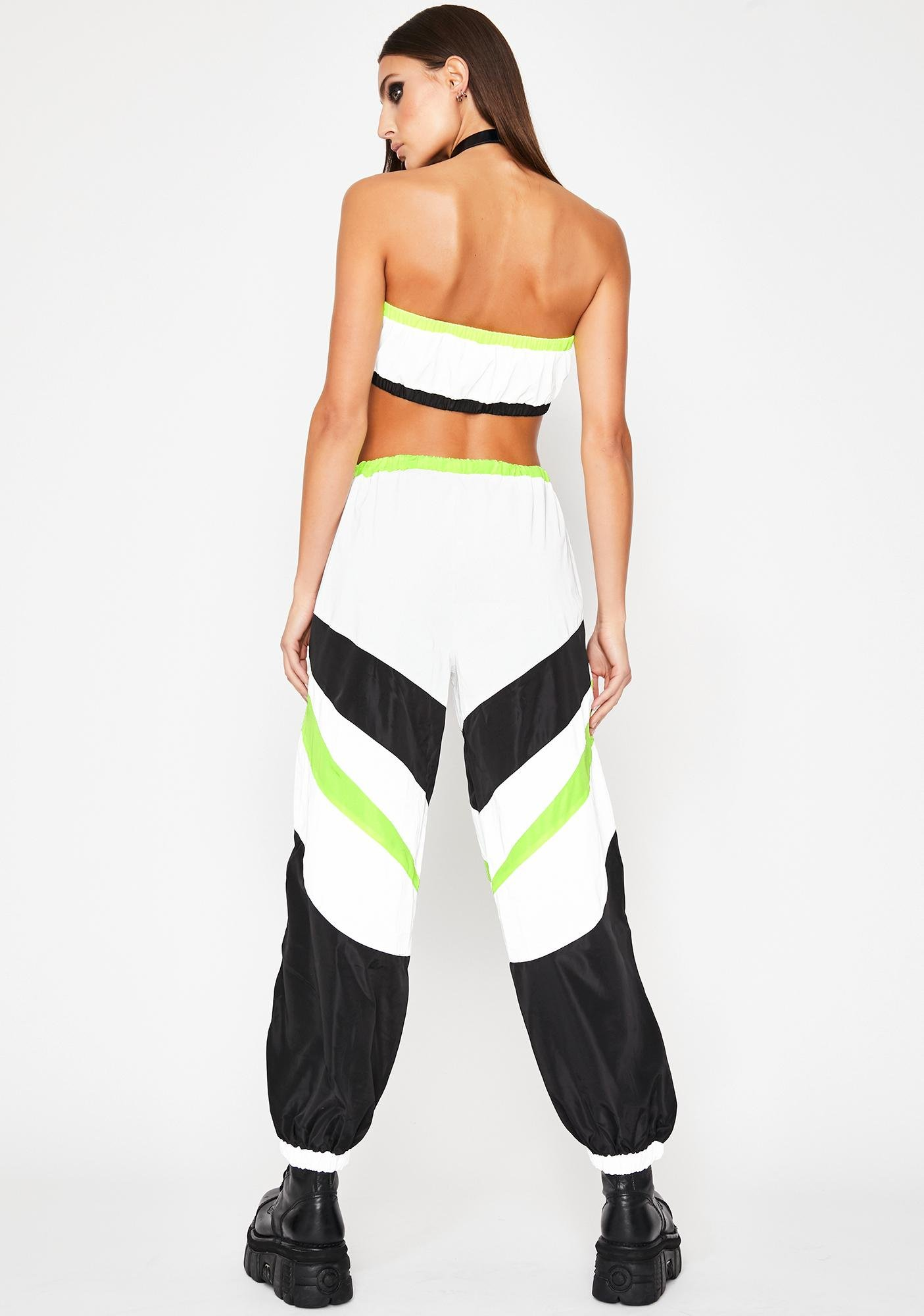 Icy Electric Energy Reflective Pant Set