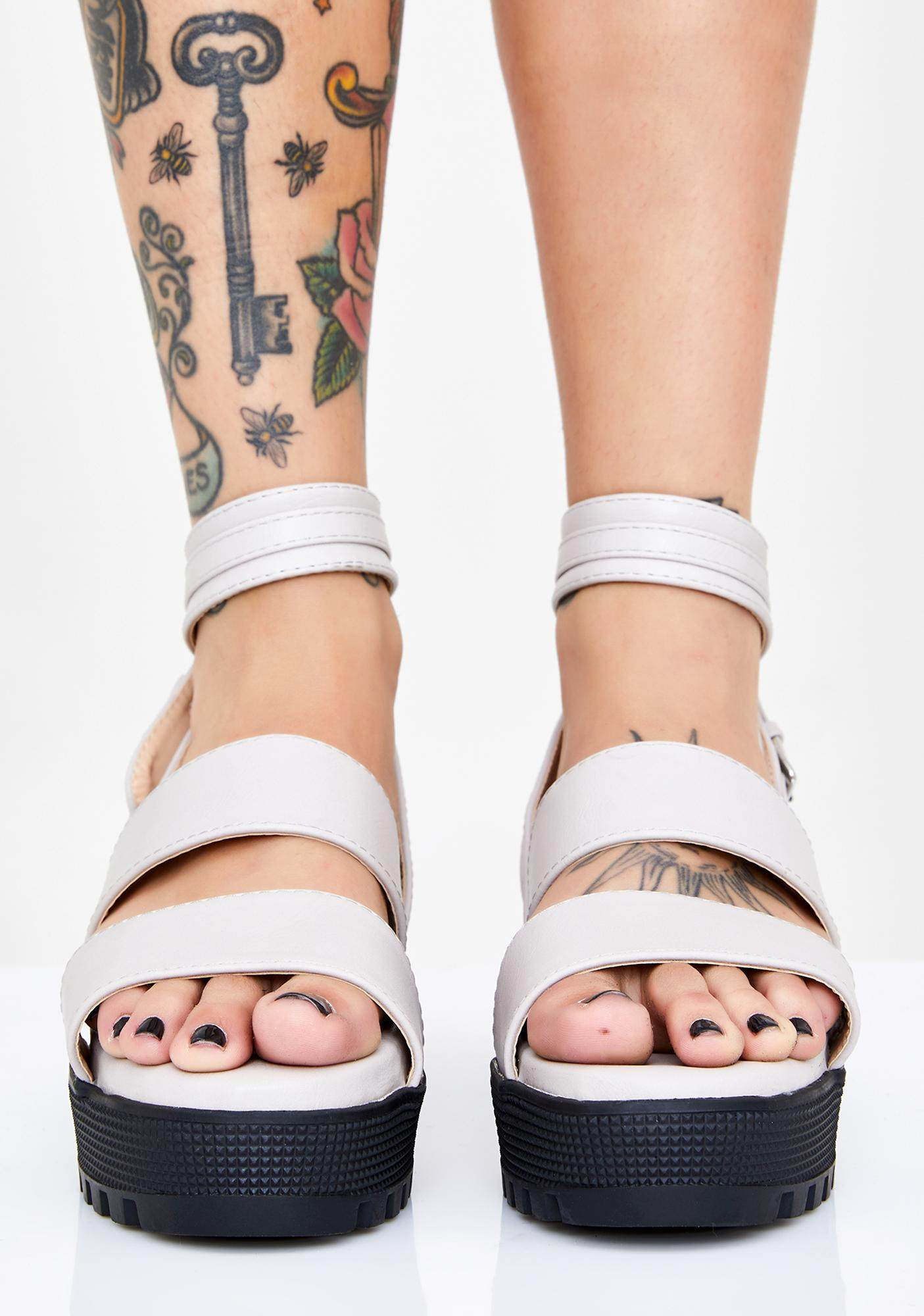 Storm Feisty Fury Platform Sandals