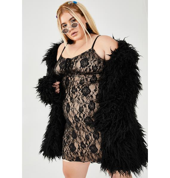 dELiA*s by Dolls Kill Servin' Sugar N' Spice Lace Dress