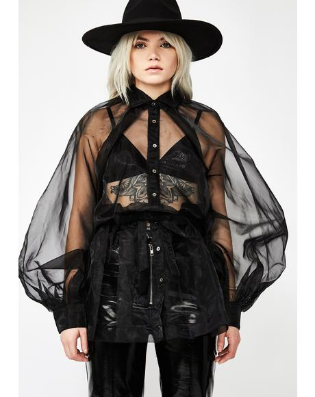 Art Betch Organza Top