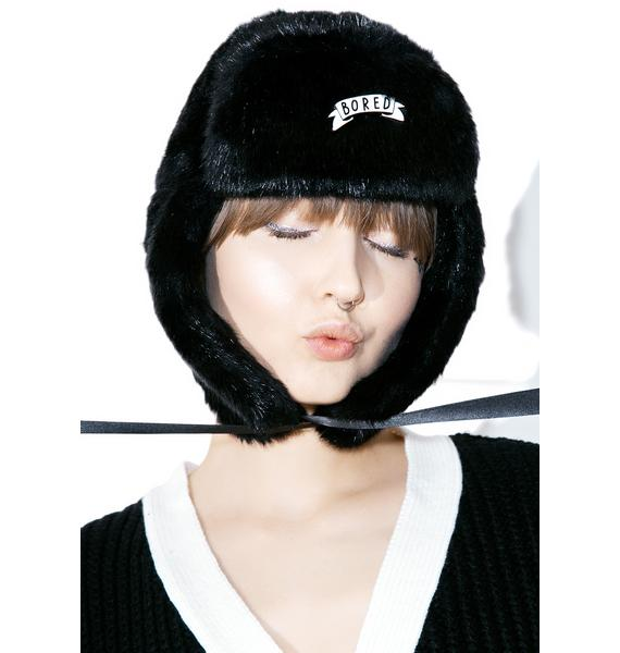 Lazy Oaf Bored Trapper Hat
