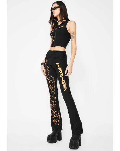 Kyanite Yoga Pants