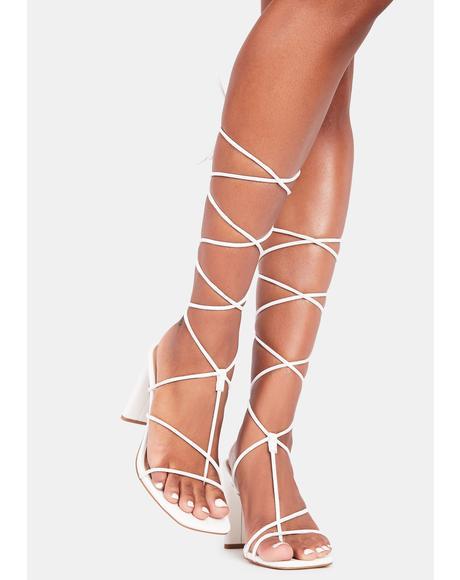 Icy Major Icon Wrap Heels