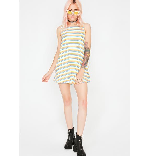 Step Out Stripe Dress