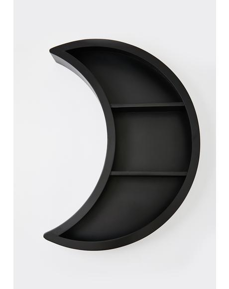 Luna Wooden Shelf