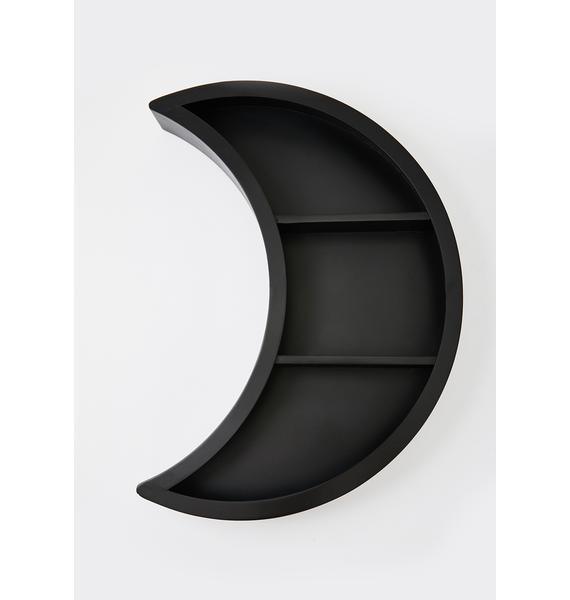 Killstar Luna Wooden Shelf