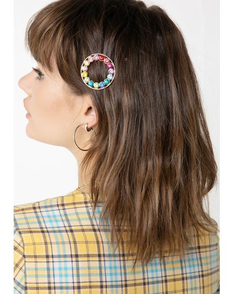 Glory Babe Rhinestone Hair Pin