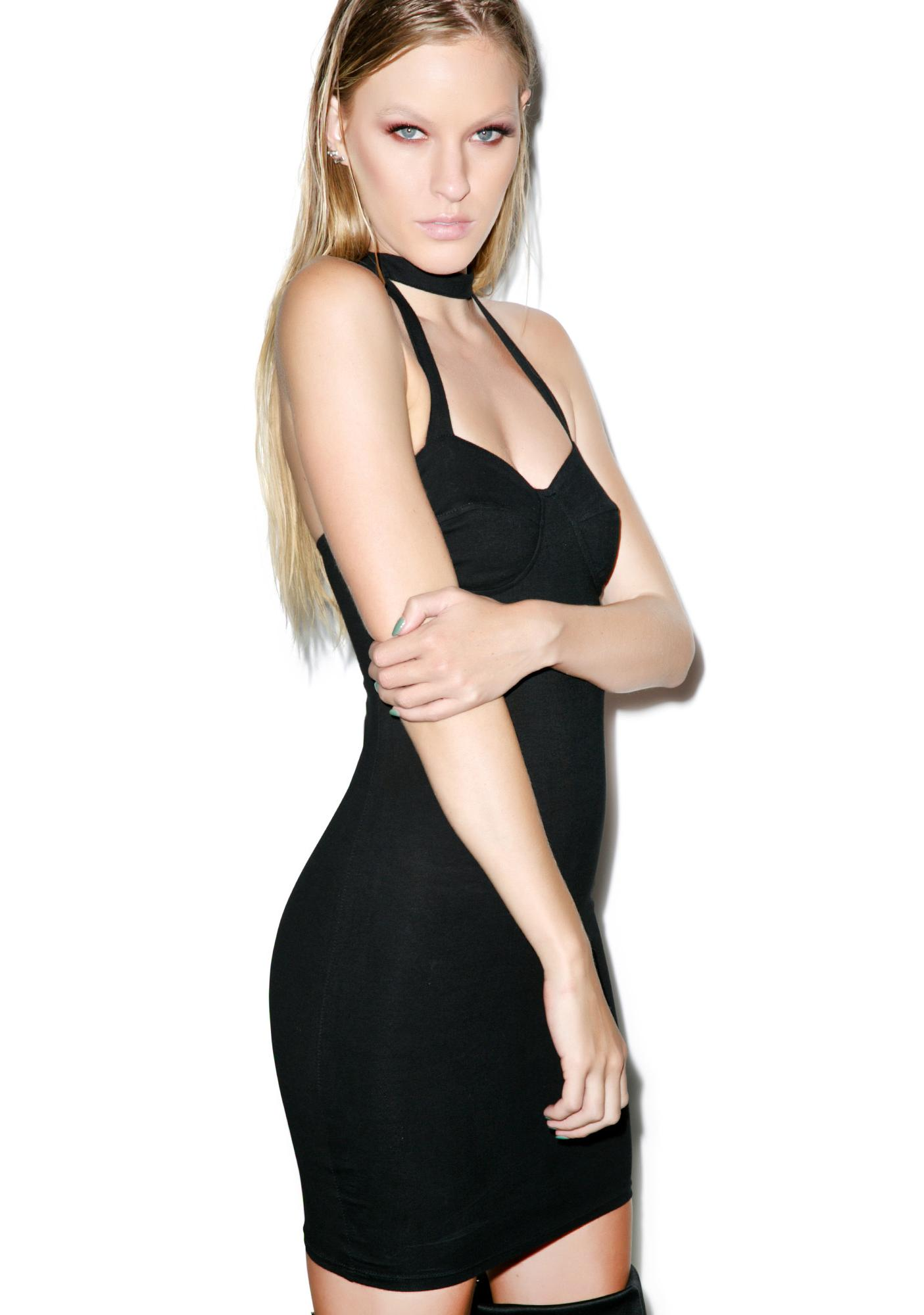 Motel Abi Bodycon Dress