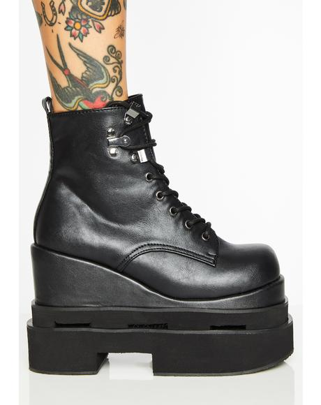 Eternal Night Platform Boots