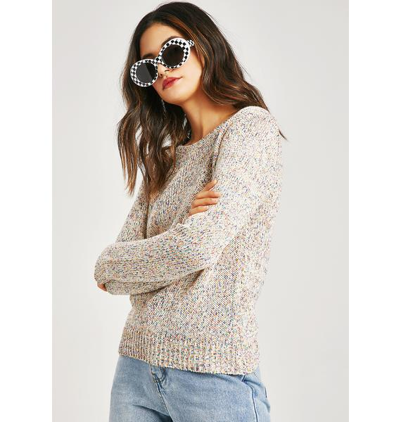 Ex Static Speckle Sweater