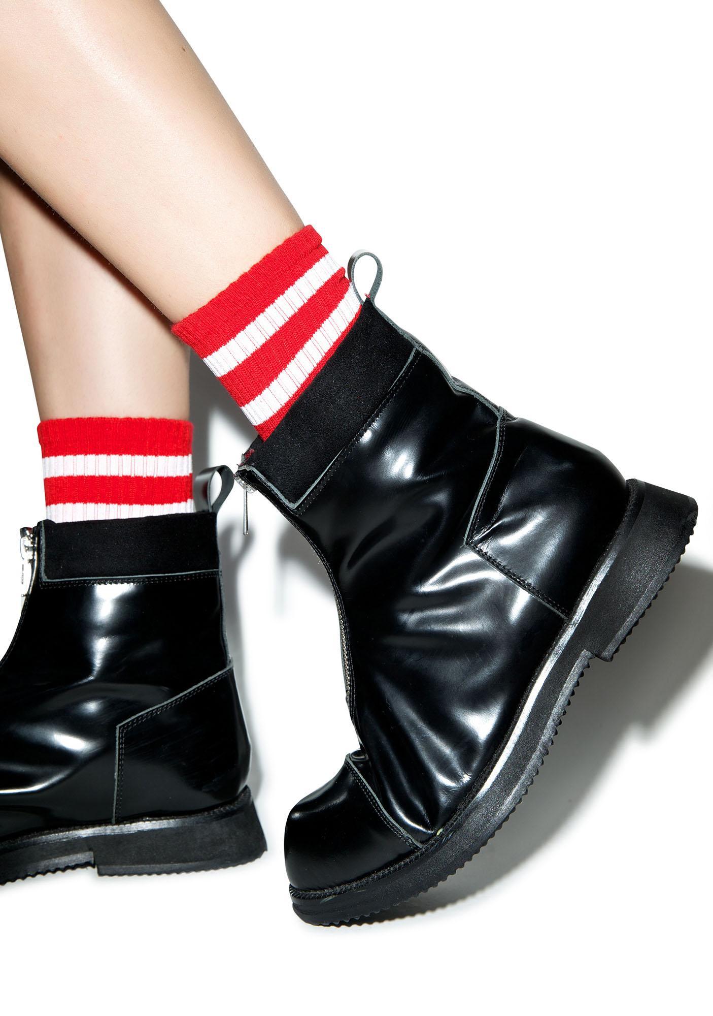Varsity Valentine Knee High Socks