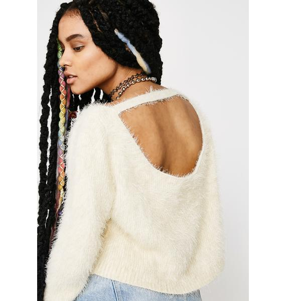 Sweet Like Suga Crop Sweater