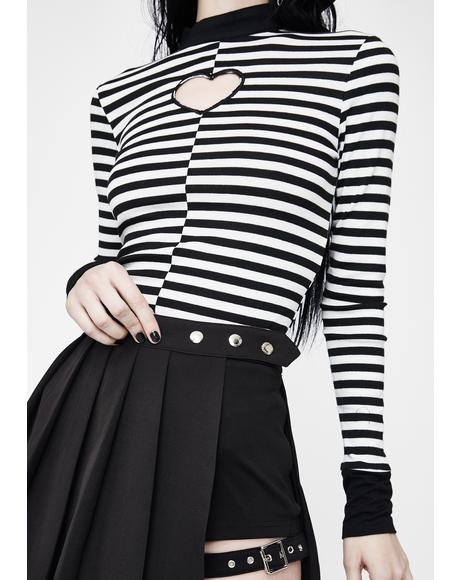 Undercover Plans Pleated Skirt
