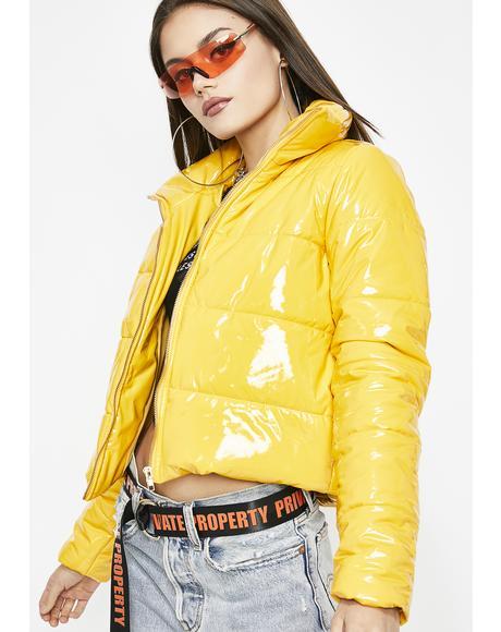 Sunny Under The Weather Vinyl Jacket