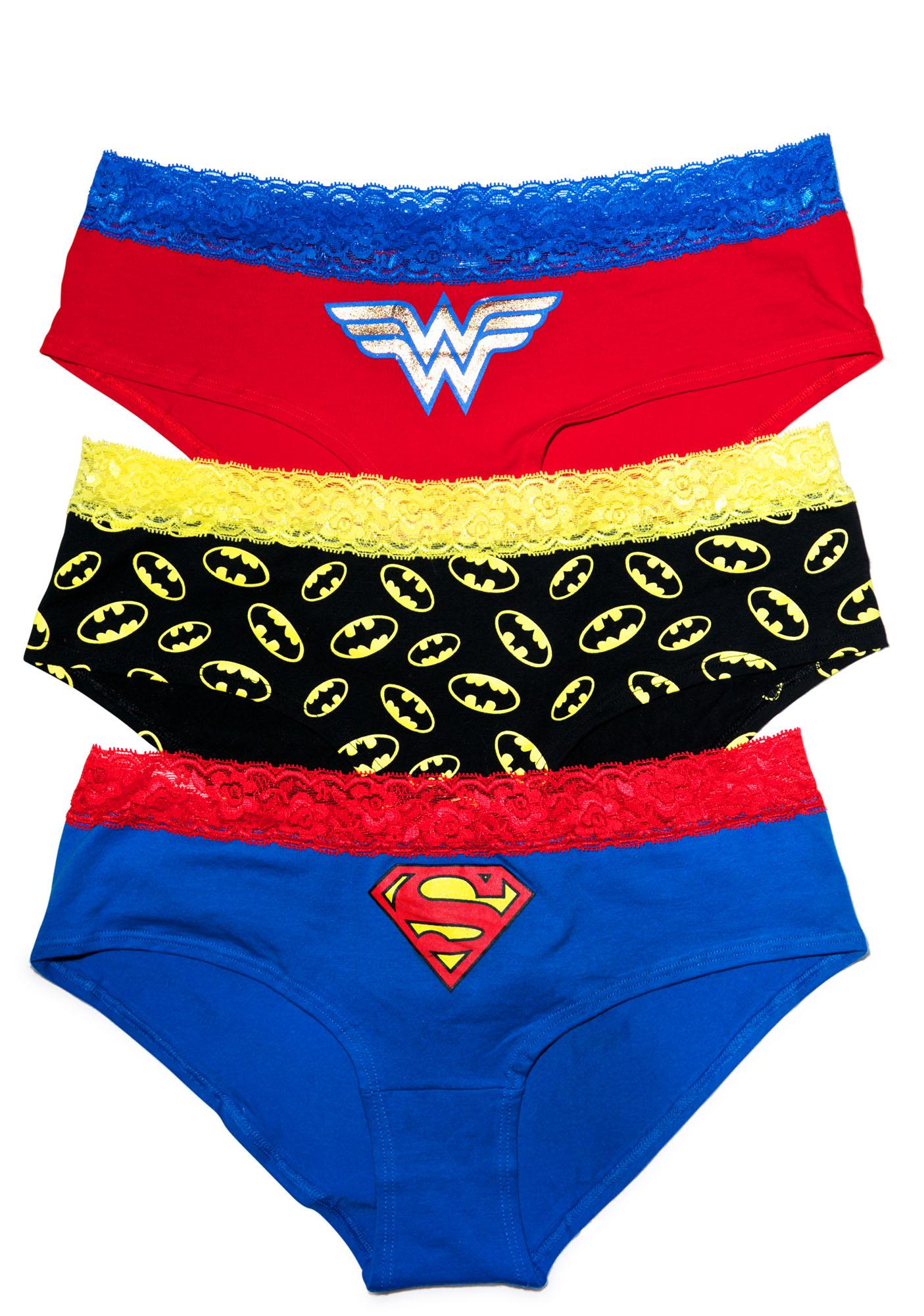 Undergirl Super Girl 3 Pack Underwear