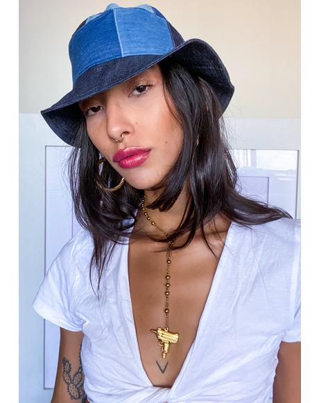 Blue Jean Bucket Hat