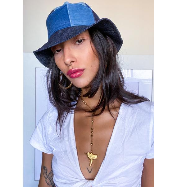 Rojas Blue Jean Bucket Hat