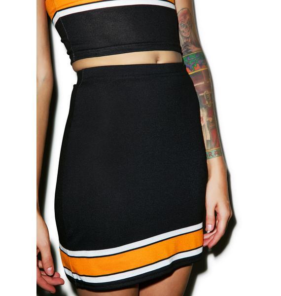 Rah-Rah Bodycon Skirt