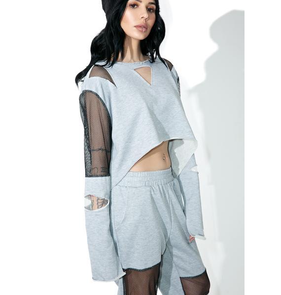 Bayside High Paneled Sweatshirt