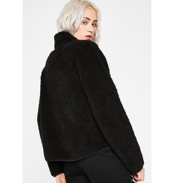 Just For Fun Sherpa Jacket