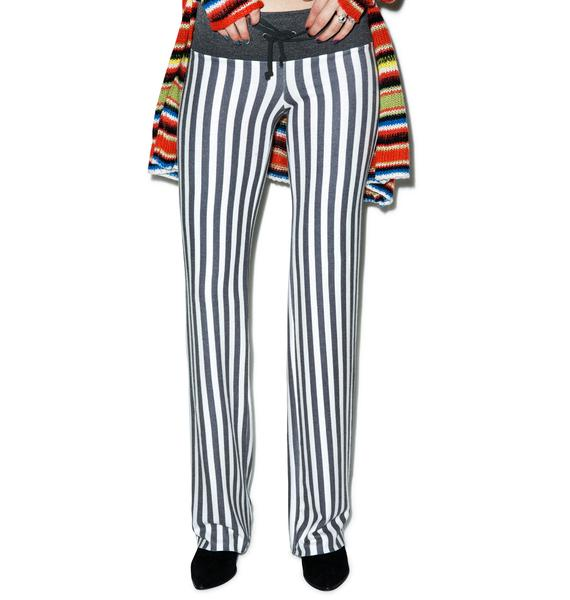 Wildfox Couture Fox Stripe Baggy Beach Pants