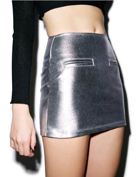 Cetus Bodycon Mini Skirt
