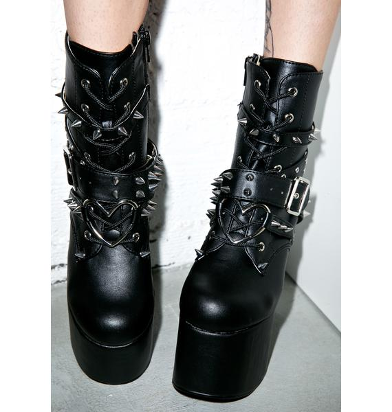 Demonia Tormented Boots