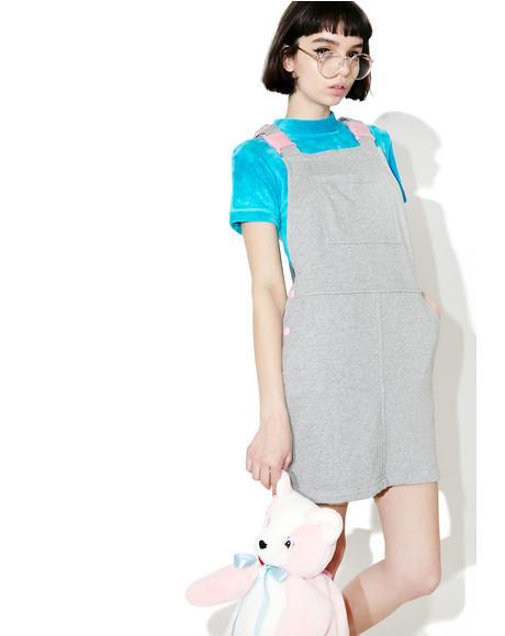Clippy Dungaree Dress