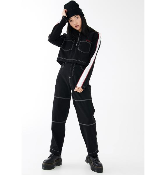 Kickers Contrast Stitch Combat Trousers