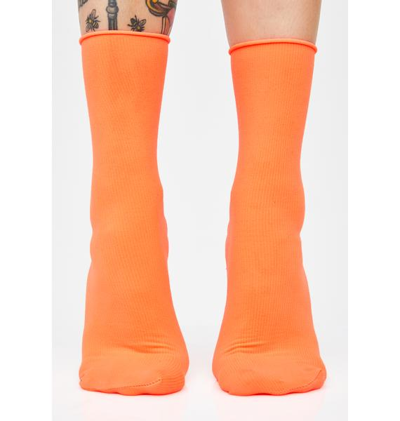 Juicy Shock Spectrum Neon Socks