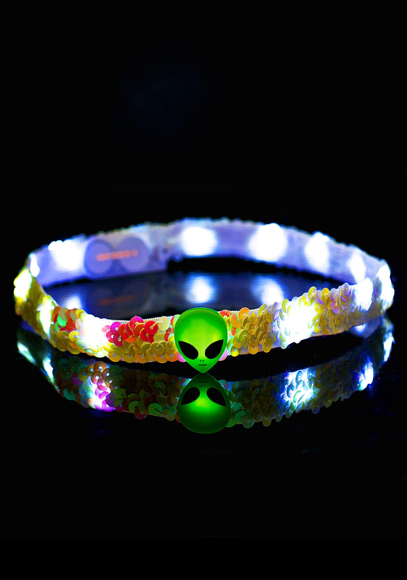 Alien LED Headband