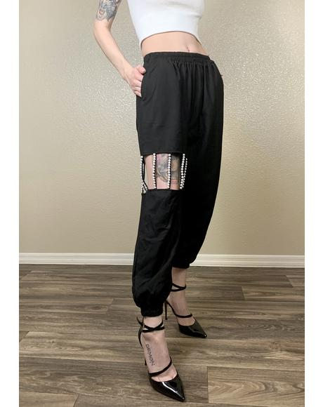 Mikiko Pearl High Waist Pants