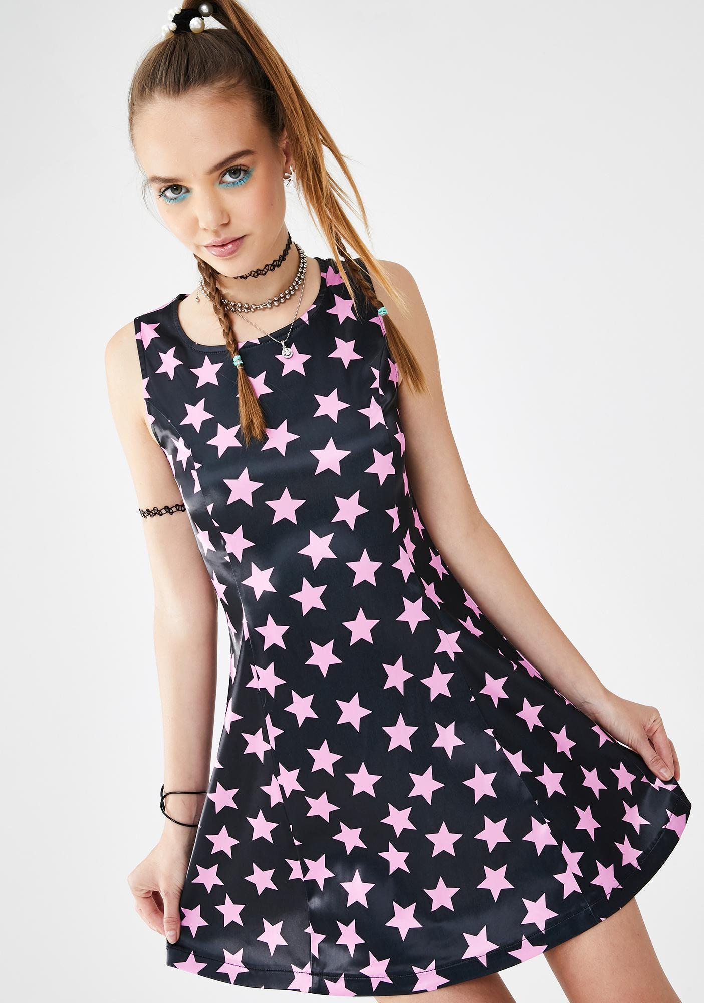 dELiA*s by Dolls Kill Moment Like This Satin Dress