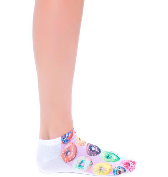 Donut Care Ankle Socks