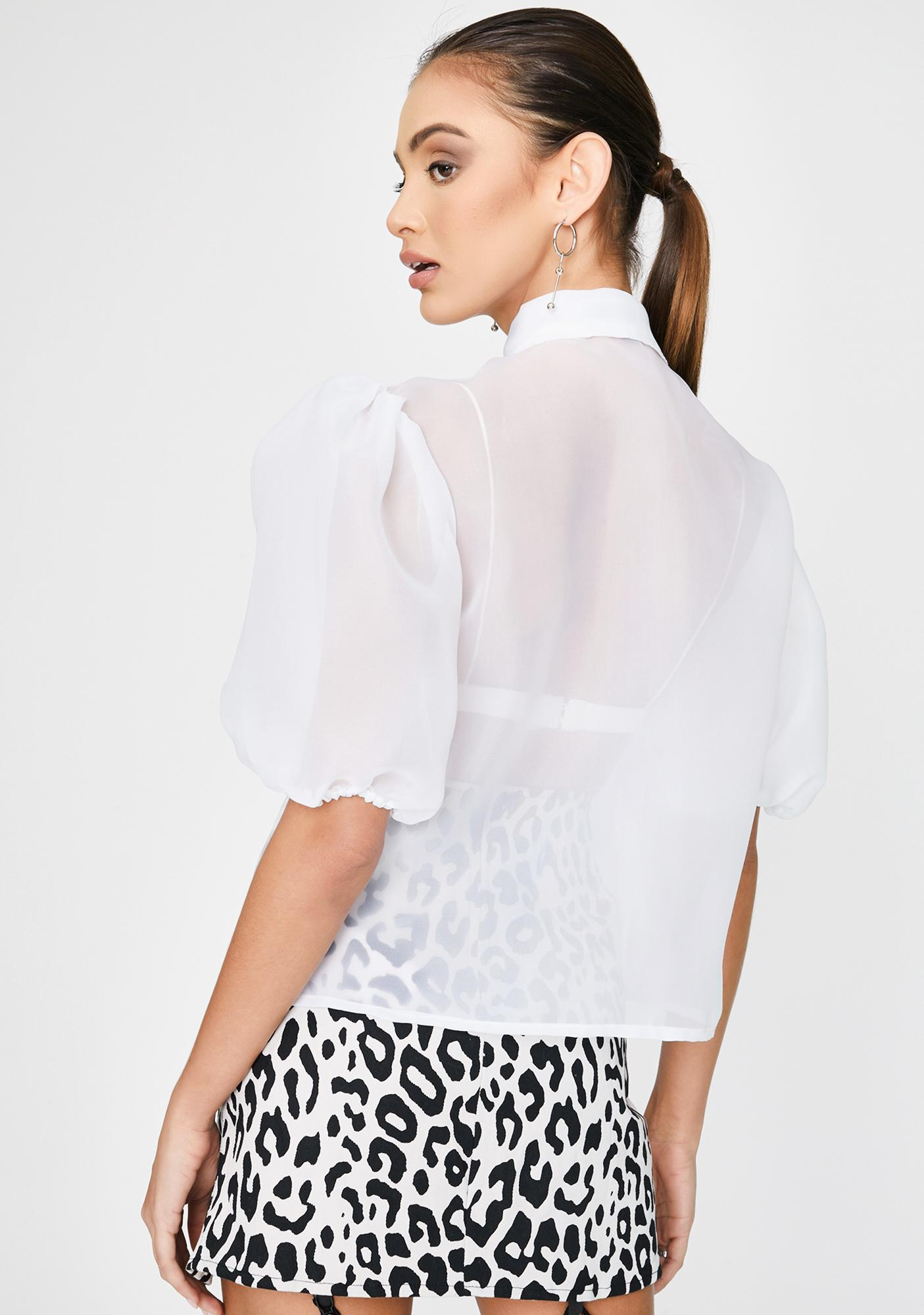 Motel Maloney Sheer Blouse