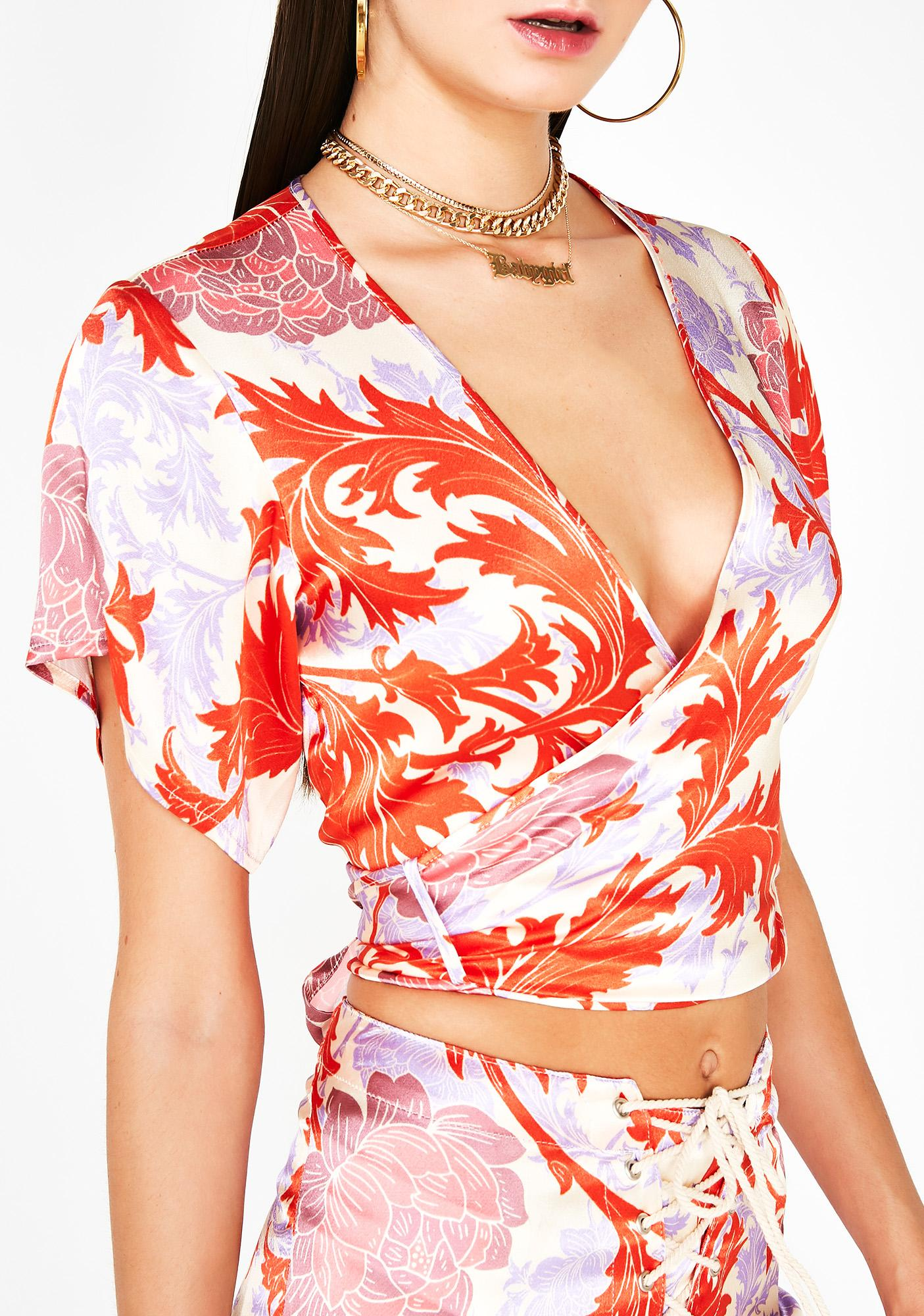 LENNI the label Anemone Pink Atlantic Top