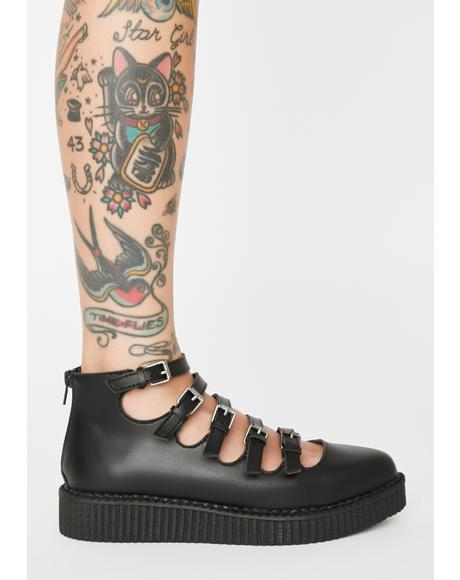 Mary Jane Buckle Creepers
