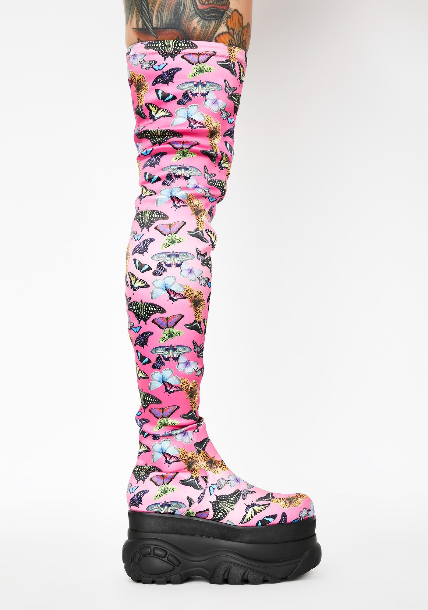 Club Exx Lovebug Thigh High Boots