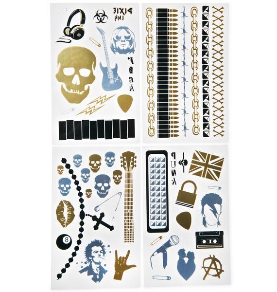 Vicious Temp Tattoo Set
