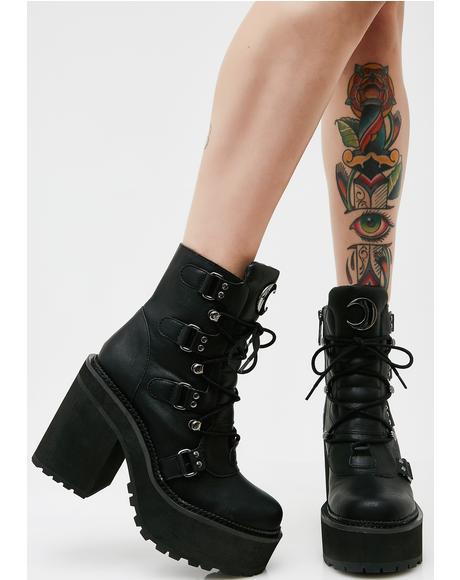 Broom Rider Boots