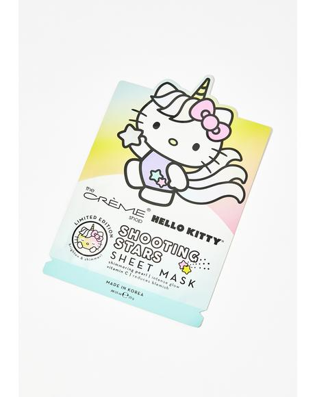 Shooting Stars Hello Kitty Mask