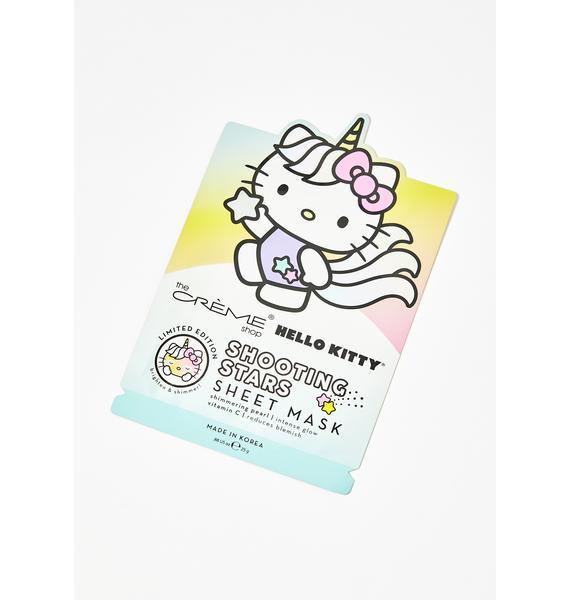 The Crème Shop Shooting Stars Hello Kitty Mask