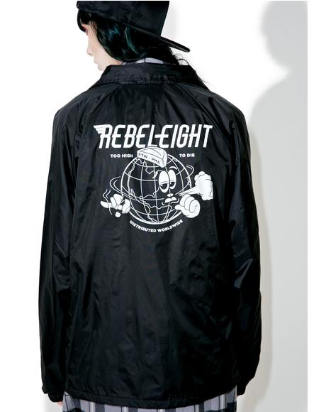 Worldwide Distro Coaches Jacket