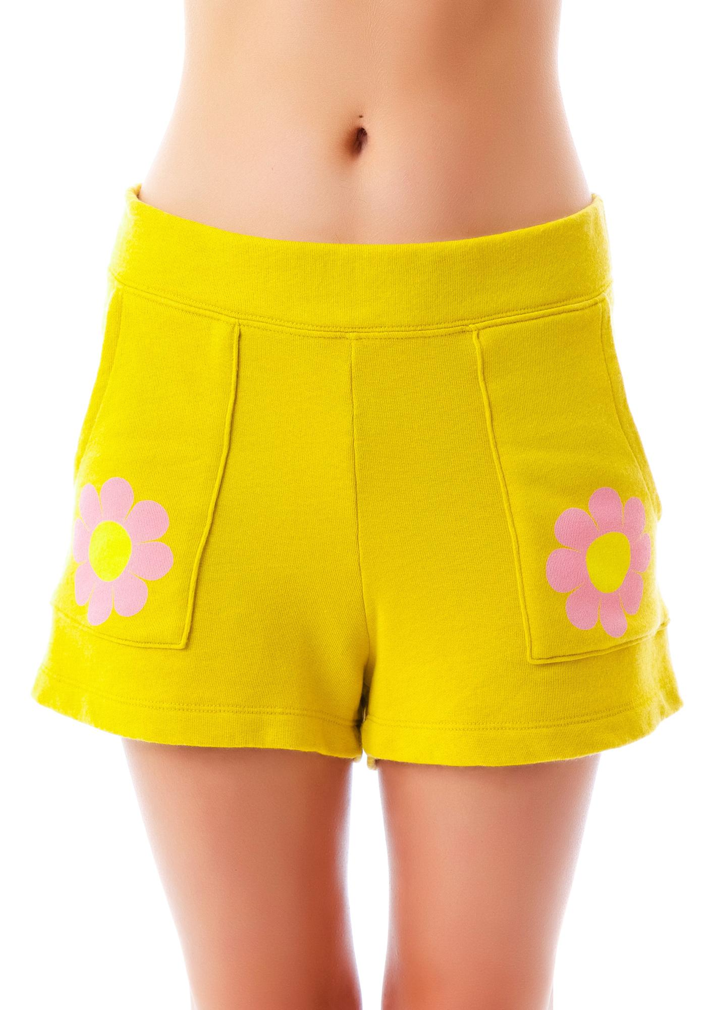 Wildfox Couture Flower Girl Coast Shorts