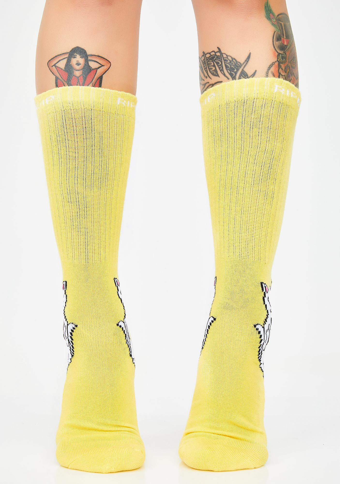 RIPNDIP Bodak Lord Nermal Socks