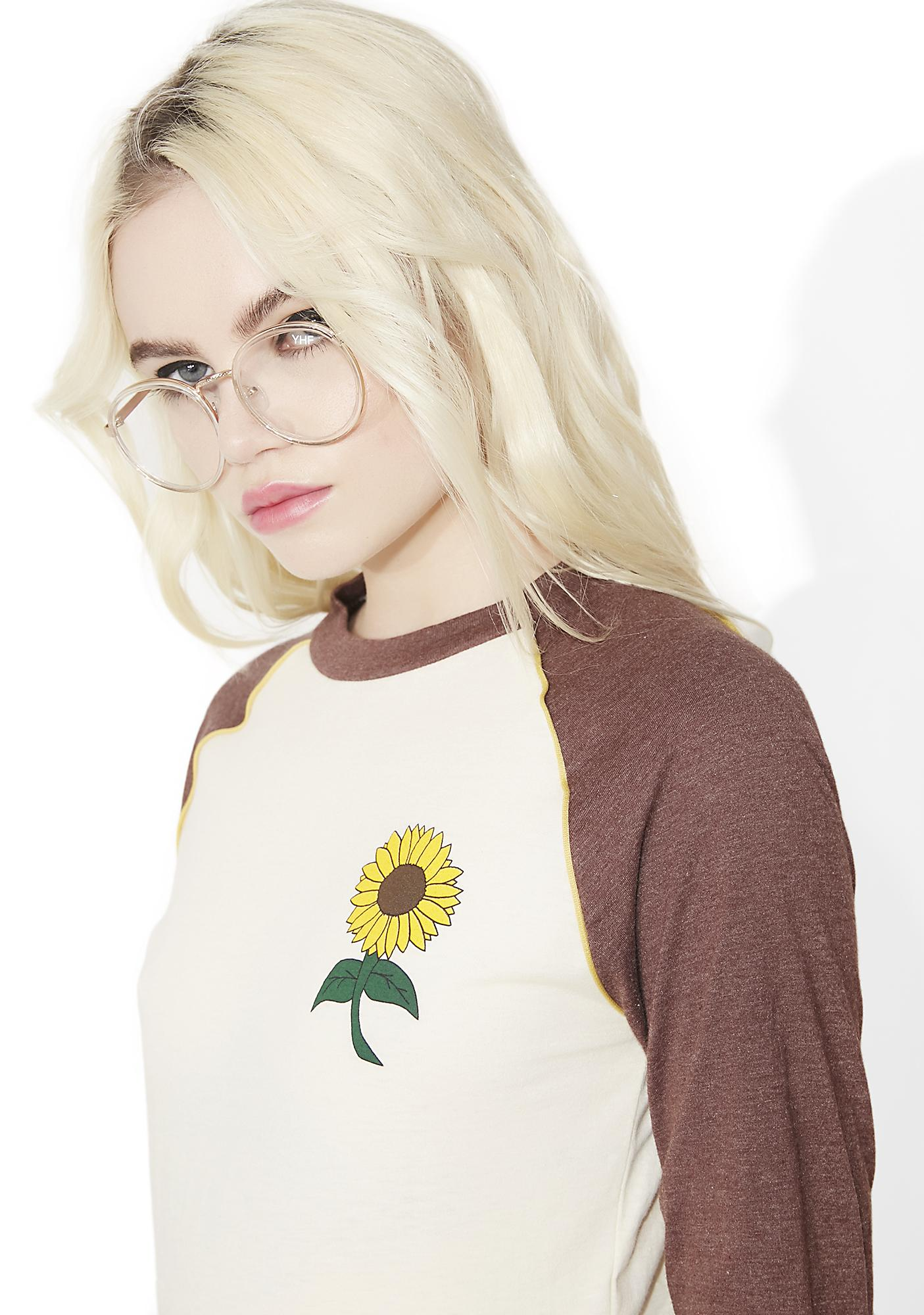 Camp Collection Sunflower Tee