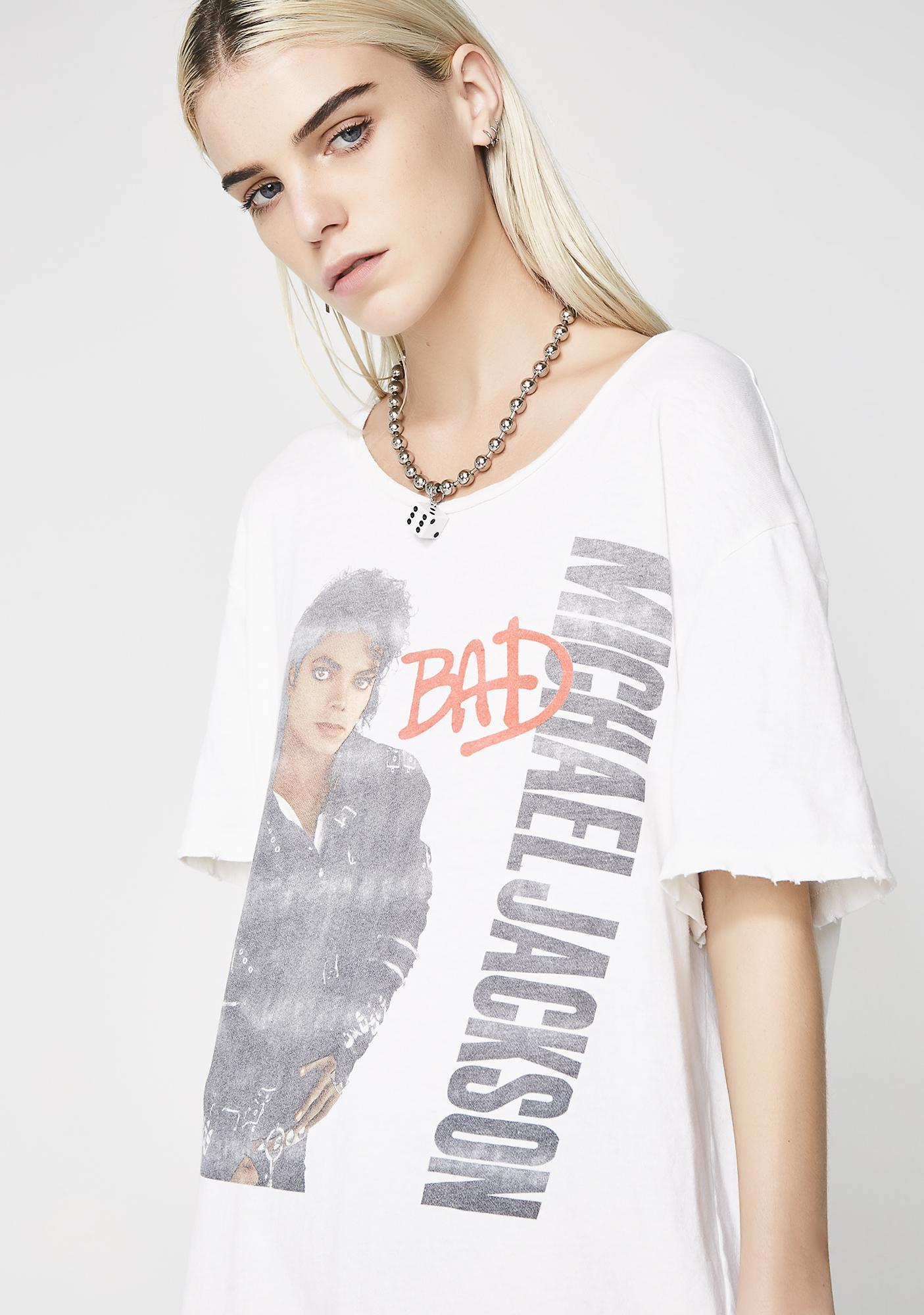 Junk Food Clothing Michael Jackson Bad Tee