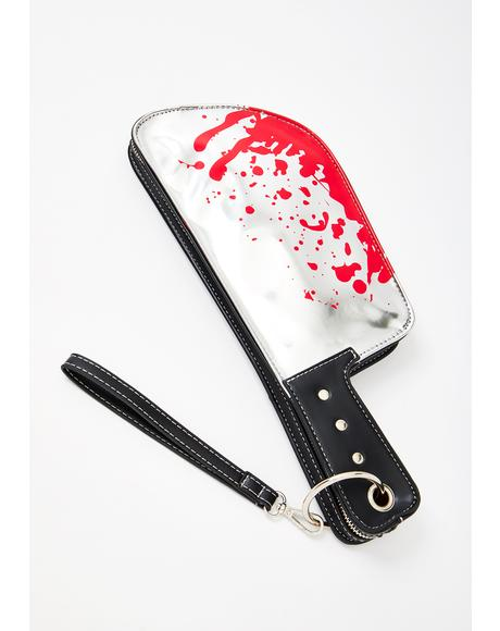 Bloody Butcher Machete Clutch