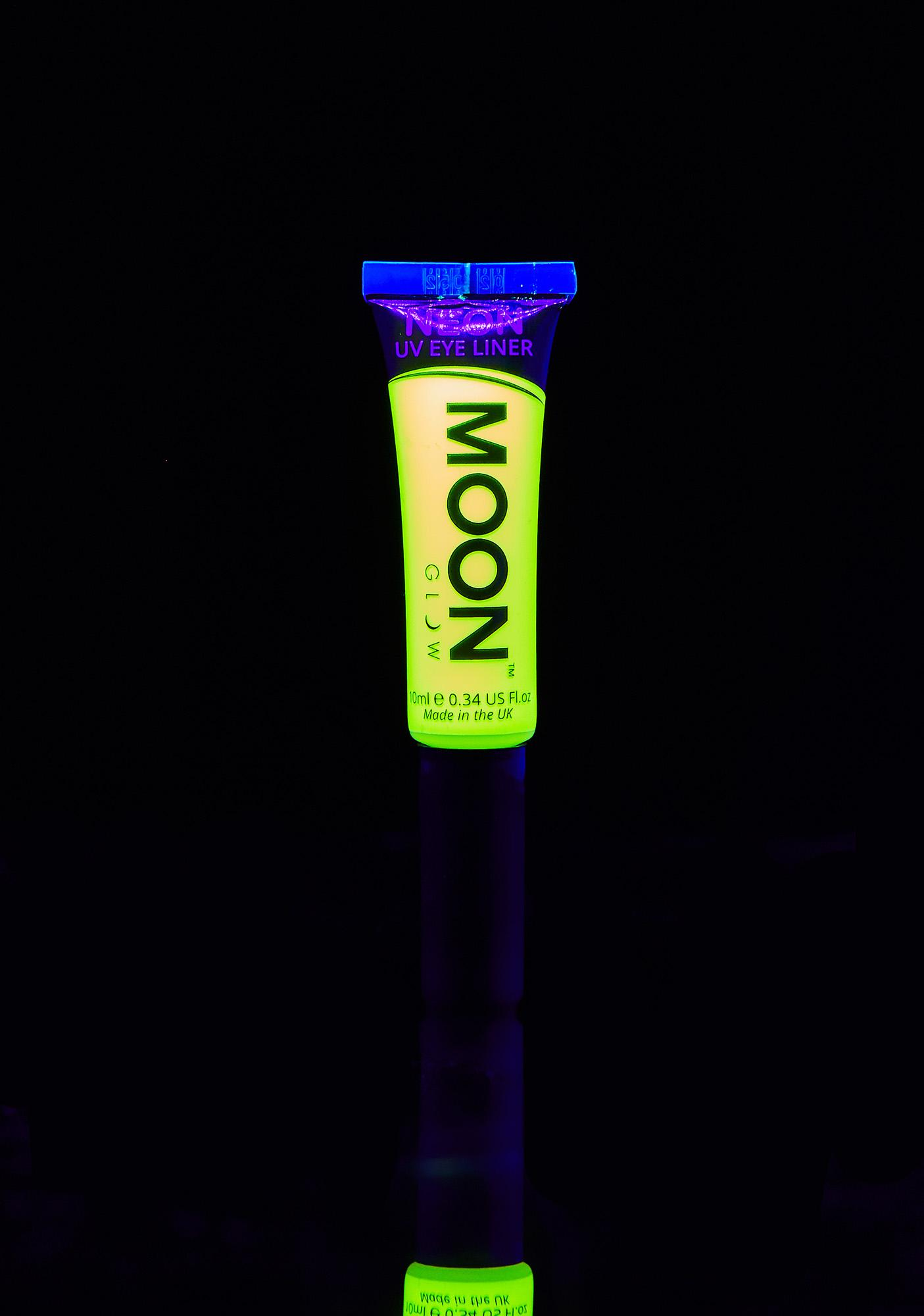 Moon Creations Neon Intense Yellow UV Eyeliner